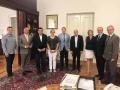 Susret rektora Univerziteta u Sarajevu i gradonačelnika Sarajeva