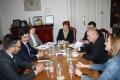 Italian Ambassador's Visit