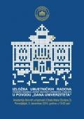 Otvaranje izložbe umjetničkih radova studenata  Akademije likovnih umjetnosti Univerziteta u Sarajev