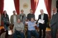 Posjeta delegacije Saveza ratnih vojnih invalida paraplegièara FBiH